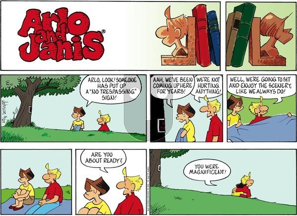 Arlo and Janis on Sunday May 29, 2016 Comic Strip