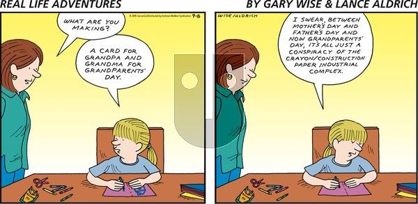 Real Life Adventures - Sunday September 8, 2019 Comic Strip