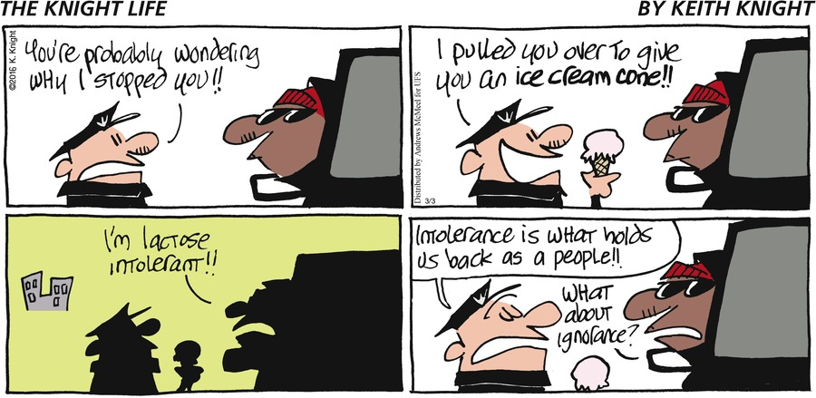 The Knight Life Comic Strip for March 03, 2019