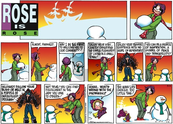 Rose is Rose on Sunday March 4, 2012 Comic Strip