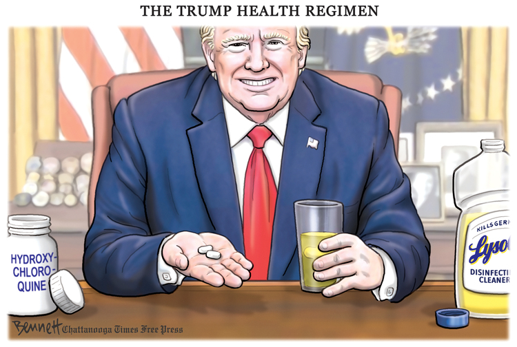 Clay Bennett Comic Strip for May 20, 2020