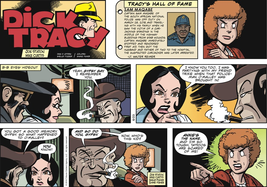 Dick Tracy Comic Strip for June 23, 2019