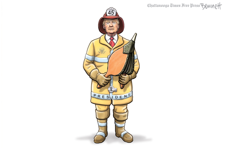 Clay Bennett by Clay Bennett on Sat, 30 May 2020