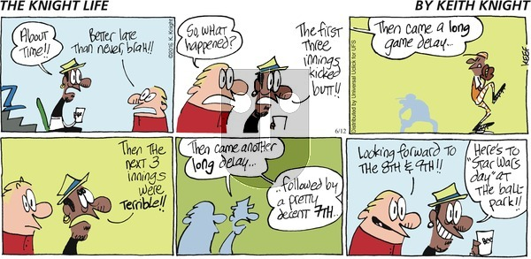 The Knight Life on Sunday June 12, 2016 Comic Strip