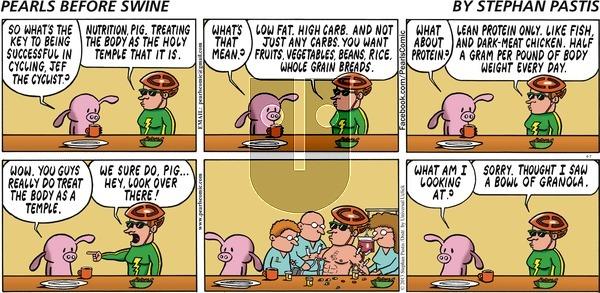 Pearls Before Swine on Sunday April 7, 2013 Comic Strip