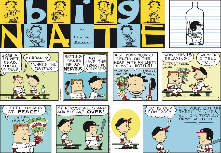 Big Nate Comic Strip for August 05, 2018