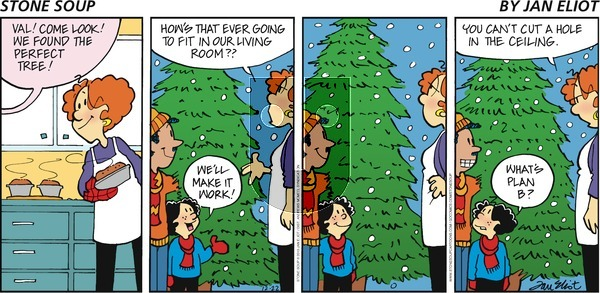 Stone Soup - Sunday December 22, 2019 Comic Strip