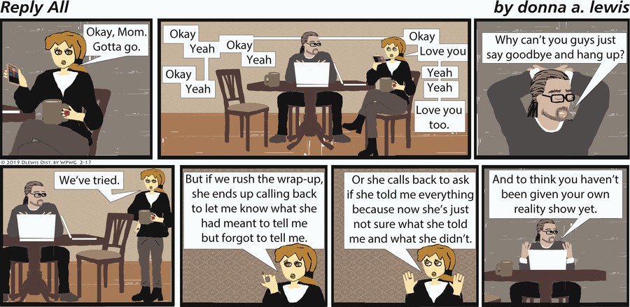 Reply All Comic Strip for February 17, 2019