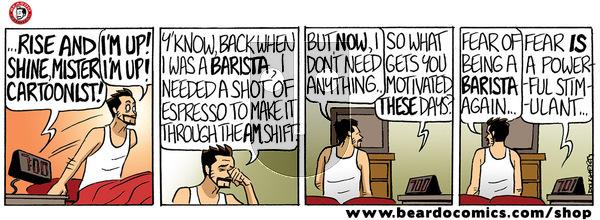 Beardo on Thursday January 16, 2020 Comic Strip