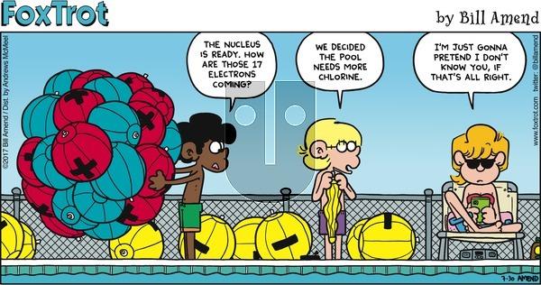 FoxTrot on Sunday July 30, 2017 Comic Strip