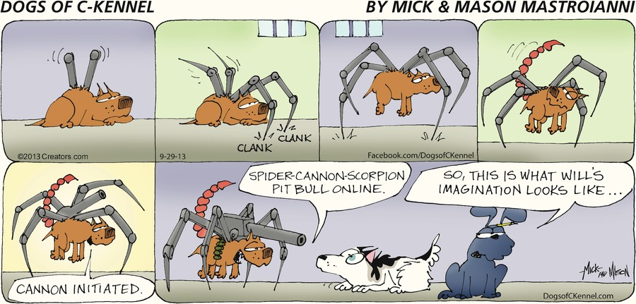 Dogs of C-Kennel for Sep 29, 2013 Comic Strip
