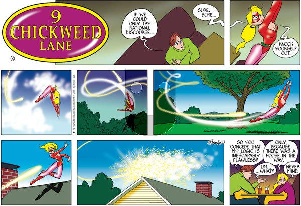 9 Chickweed Lane - Sunday September 14, 2008 Comic Strip