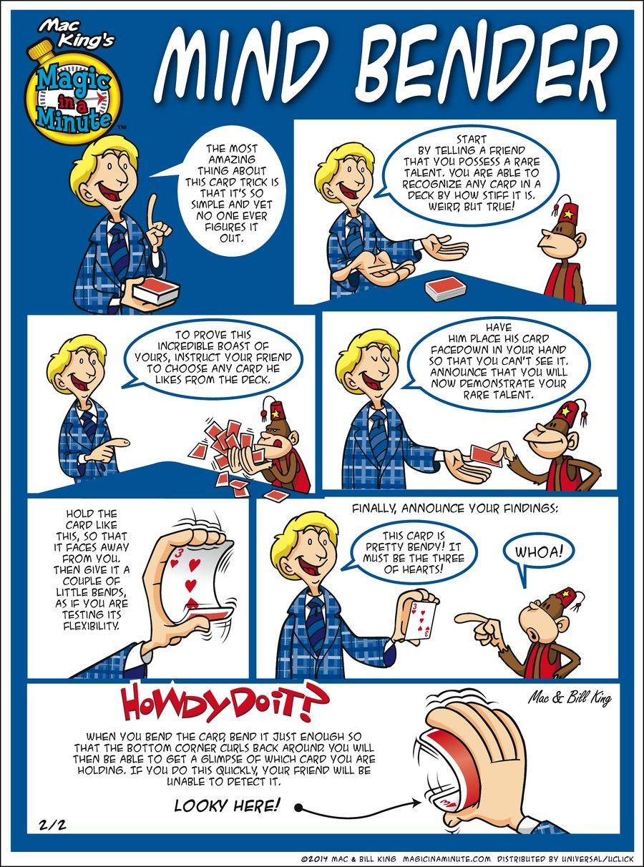 Magic in a Minute for Feb 2, 2014 Comic Strip