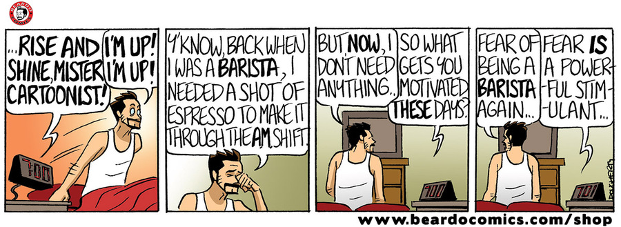 Beardo Comic Strip for January 16, 2020