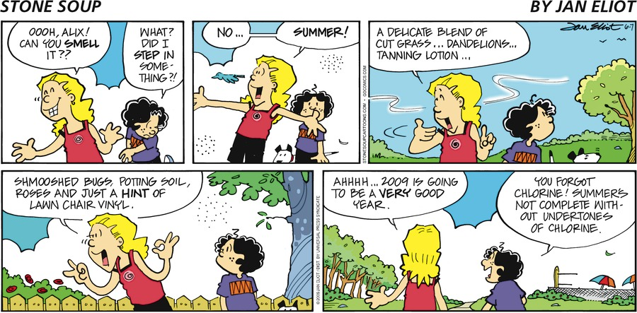Stone Soup Comic Strip for June 07, 2009