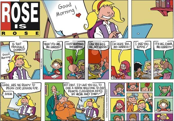 Rose is Rose - Sunday September 13, 2020 Comic Strip