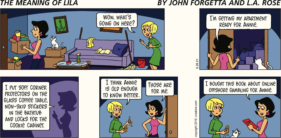 The Meaning of Lila Comic Strip for September 26, 2021