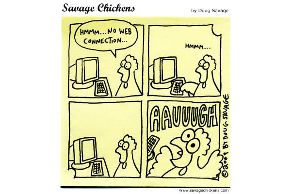 Savage Chickens Comic Strip for March 05, 2013