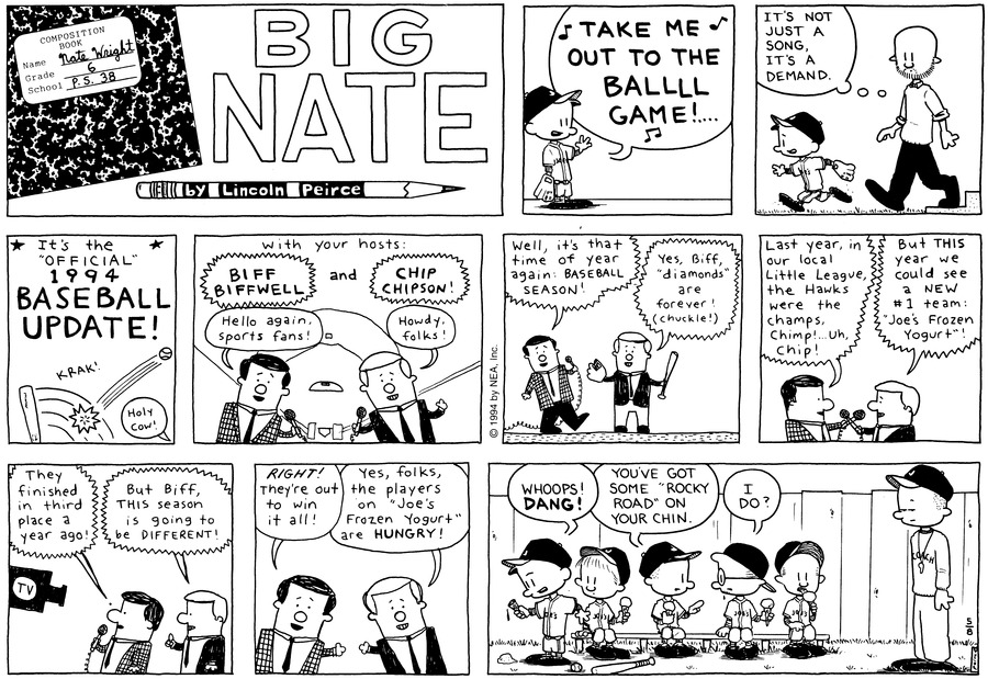 Big Nate: First Class Comic Strip for May 19, 2019
