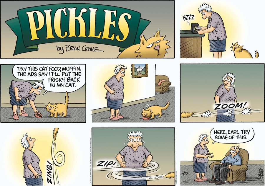 Pickles Comic Strip for February 17, 2019
