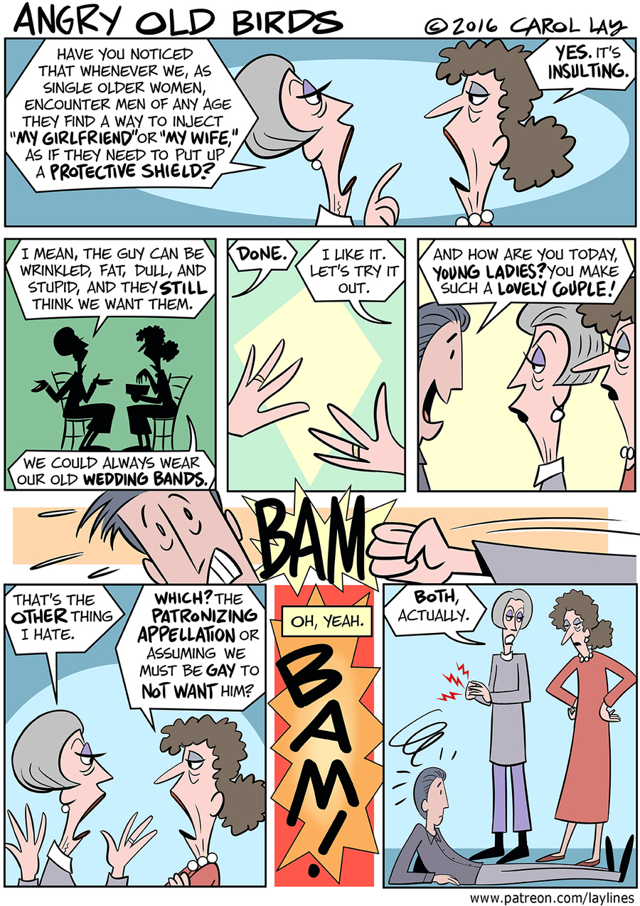 Lay Lines Comic Strip for February 15, 2016