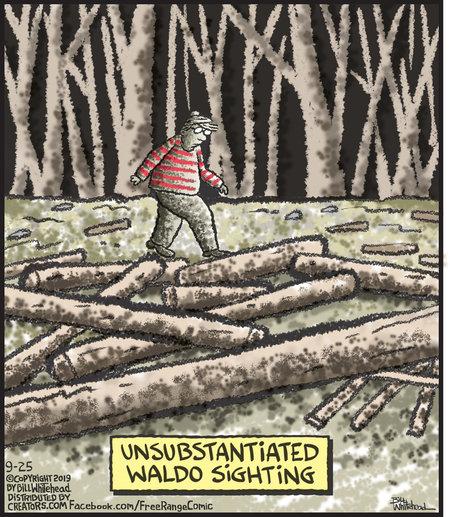 Free Range Comic Strip for September 25, 2019