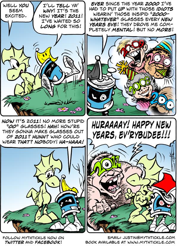 MythTickle Comic Strip for December 31, 2010