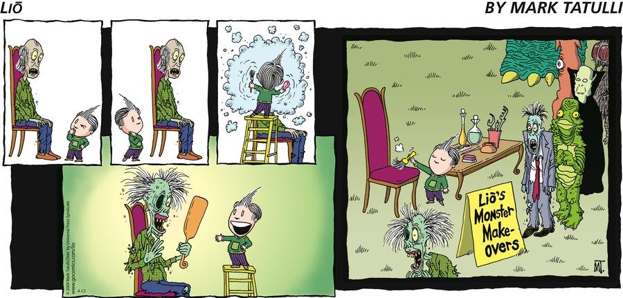 Lio for Apr 12, 2009 Comic Strip