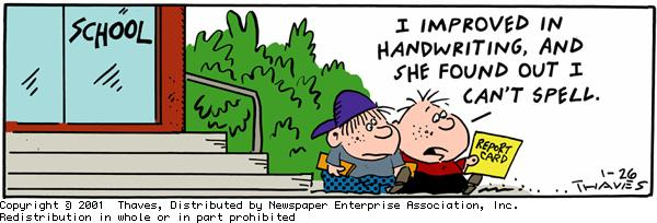 Frank and Ernest for Jan 26, 2001 Comic Strip