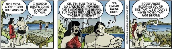 Alley Oop - Thursday November 7, 2019 Comic Strip