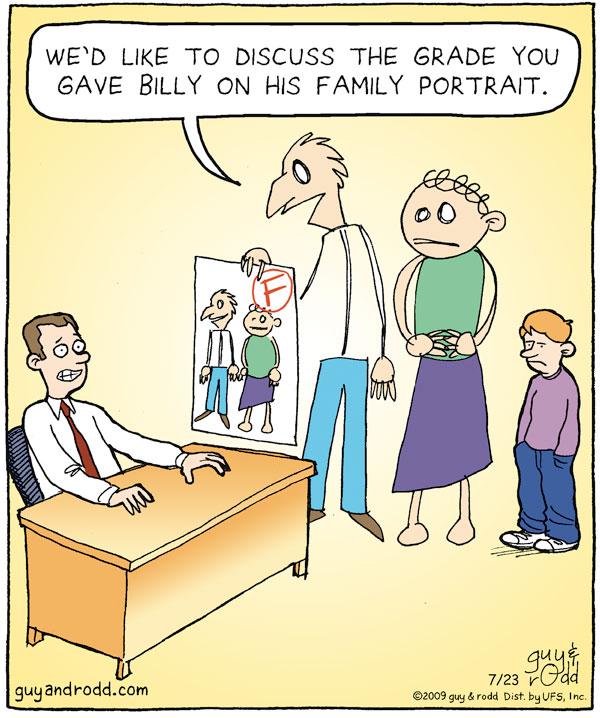 Brevity for Jul 23, 2009 Comic Strip