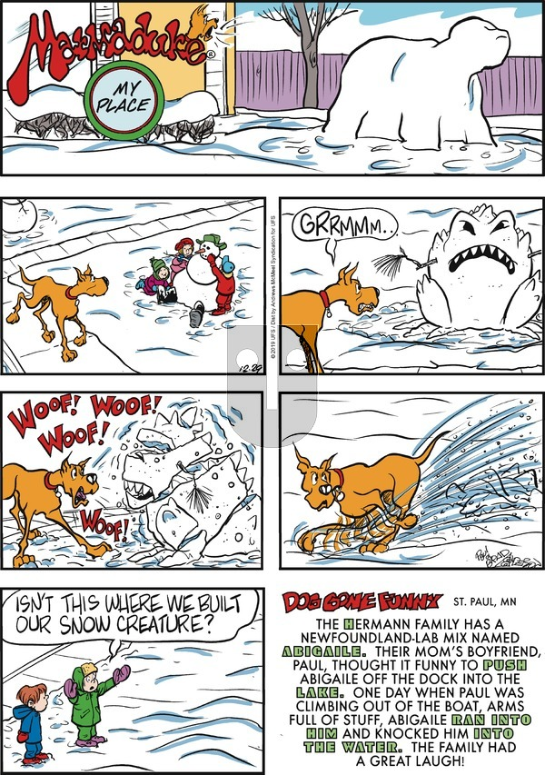 Marmaduke on Sunday December 29, 2019 Comic Strip