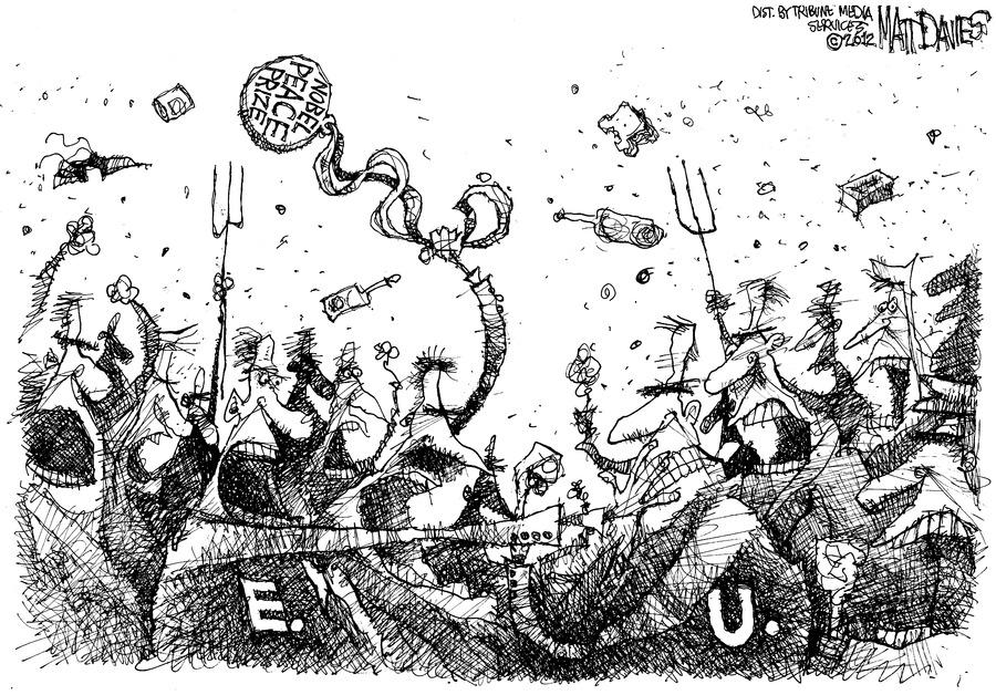 Nobel Peace Prize E.U.