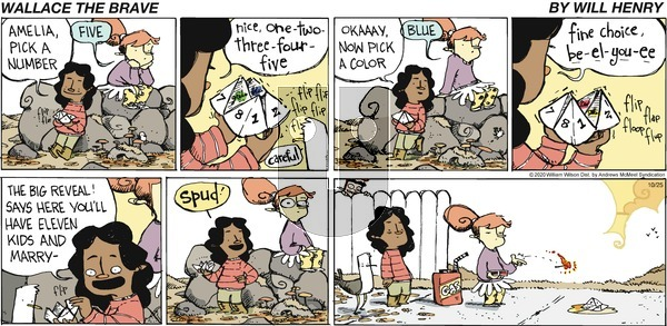 Wallace the Brave - Sunday October 25, 2020 Comic Strip