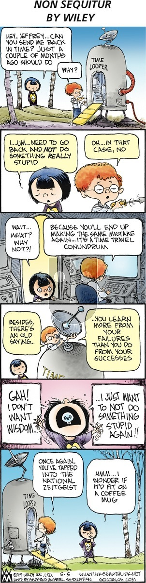 Non Sequitur - Sunday May 5, 2019 Comic Strip