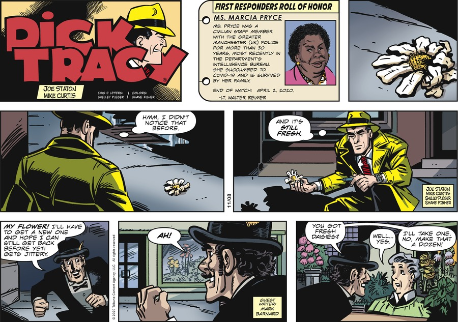 Dick Tracy by Joe Staton and Mike Curtis on Sun, 08 Nov 2020