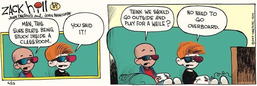 Zack Hill for Jun 23, 2013 Comic Strip