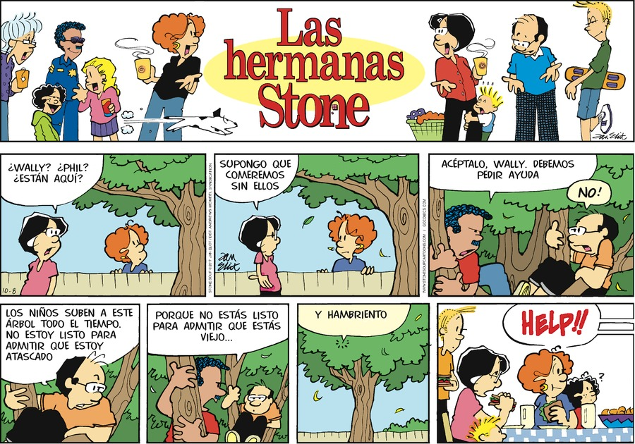 Las Hermanas Stone for Oct 8, 2017 Comic Strip