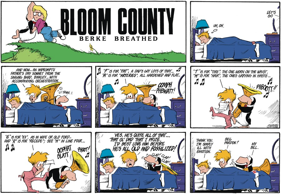 Bloom County Comic Strip for June 14, 2021
