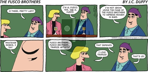 The Fusco Brothers on Sunday May 17, 2020 Comic Strip