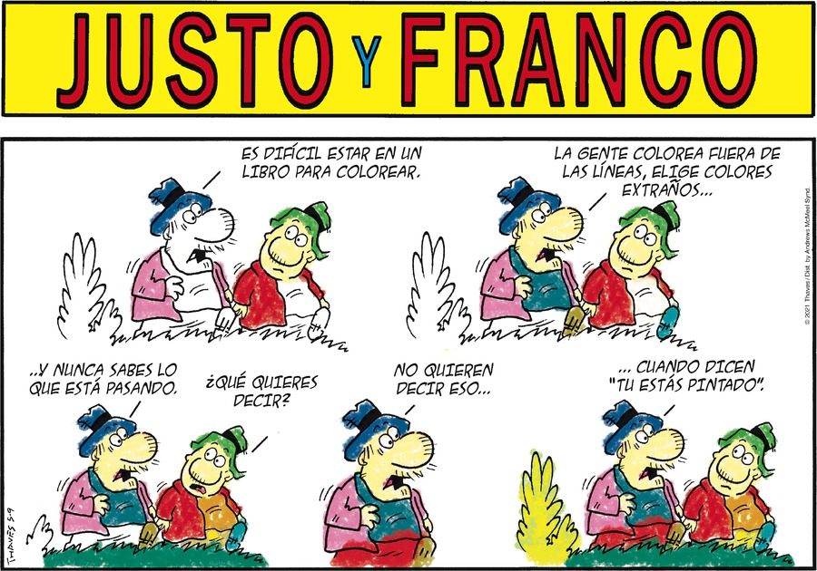 Justo y Franco by Thaves on Sun, 09 May 2021