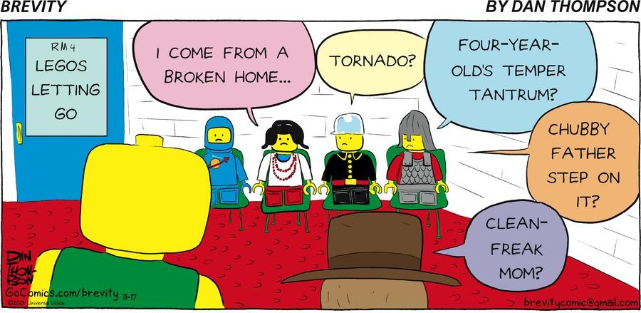 Brevity for Nov 17, 2013 Comic Strip