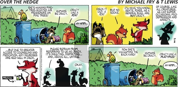Over the Hedge on Sunday October 8, 2017 Comic Strip