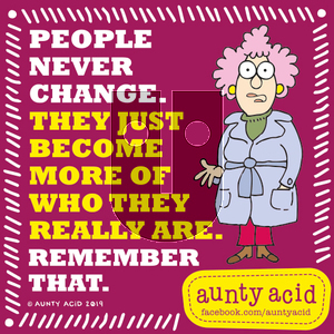Aunty Acid on Sunday September 15, 2019 Comic Strip
