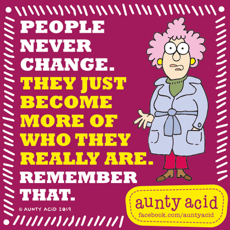 Aunty Acid by Ged Backland for September 15, 2019