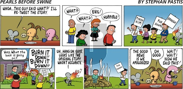 Pearls Before Swine on Sunday February 24, 2019 Comic Strip