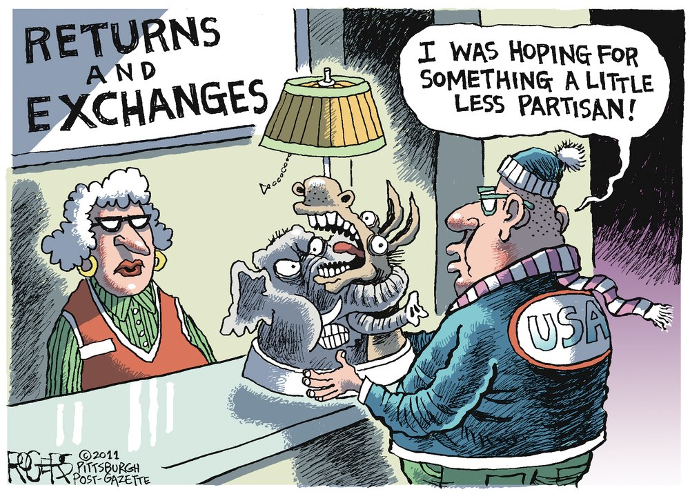 Rob Rogers Comic Strip for December 25, 2011