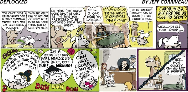 DeFlocked - Sunday June 5, 2011 Comic Strip