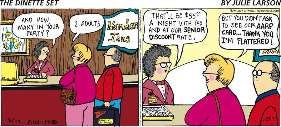 The Dinette Set for Mar 17, 2013 Comic Strip