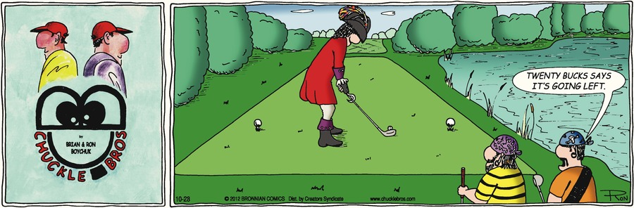 Chuckle Bros Comic Strip for October 28, 2012